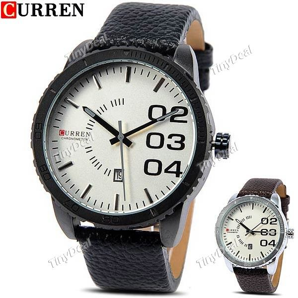 http://www.tinydeal.com/it/curren-male-genuine-leather-band-quartz-watch-with-calendar-p-116569.html  (CURREN) Fashion Men's Quartz Watch Wristwatch