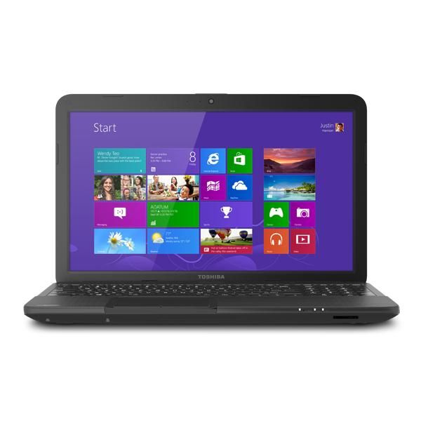 Toshiba Satellite C855D-S5340 -- Operating System: Windows 8; Processor: AMD E1-1200; RAM: 4GB; Hard Drive: 320GB; Optical Drive: DVD-SuperMulti drive (+/-R double layer); 15.6 inch display More Details