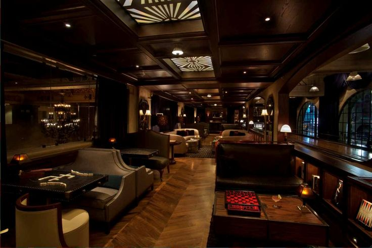 The Spare Room- a modern day gaming parlour and cocktail lounge, situated on the mezzanine level of the Roosevelt Hotel in LA