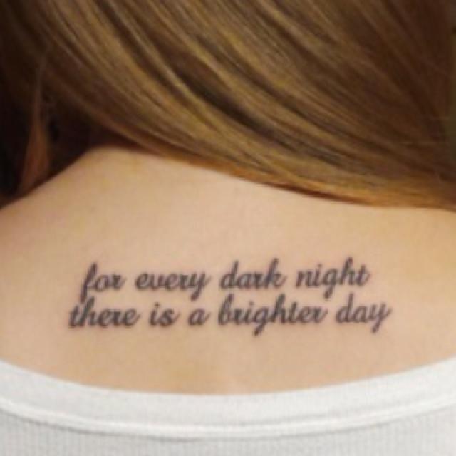 Script tattoo tattoos for girls pinterest