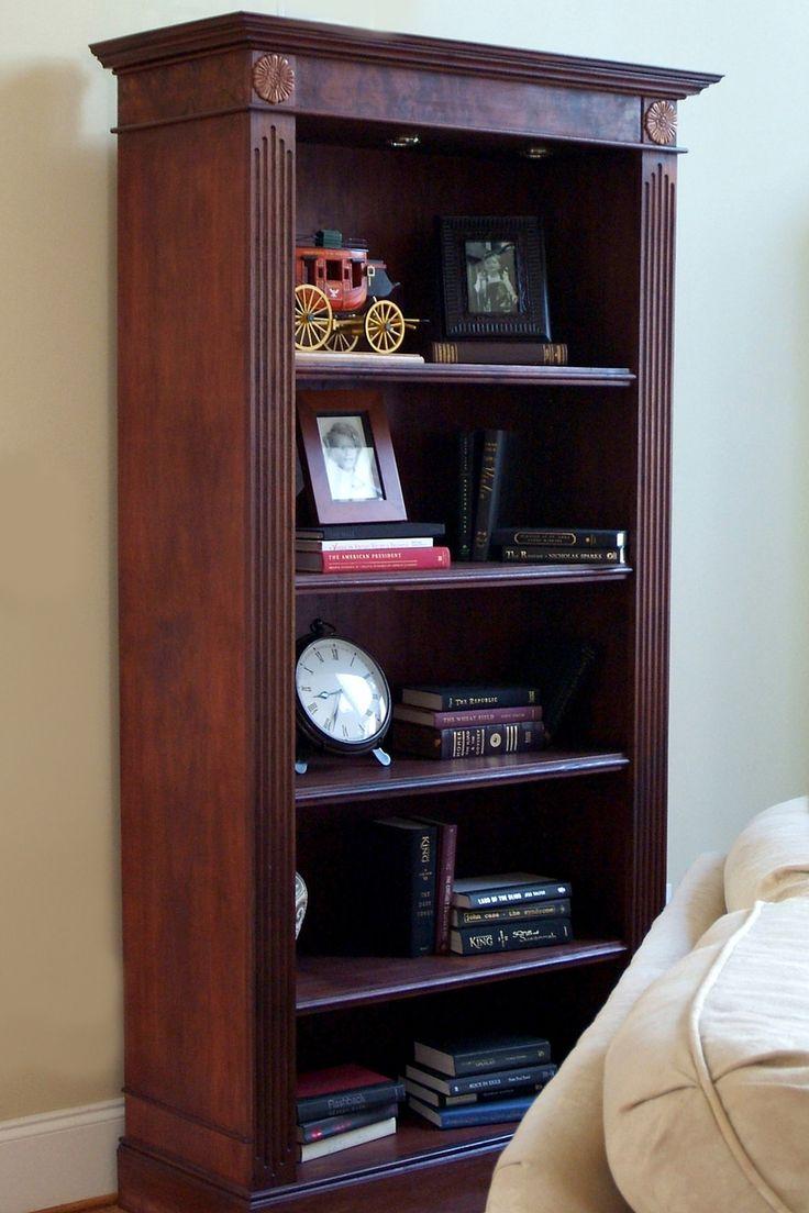 Chateau bookcase walnut leaning bookcase white modern bookcase walnut - Walnut Bookcase