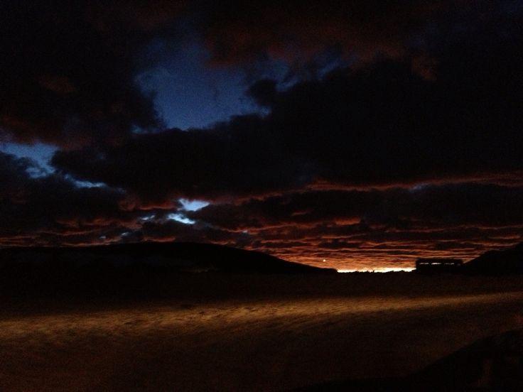 Atardecer en Maricunga, Copiapó Chile