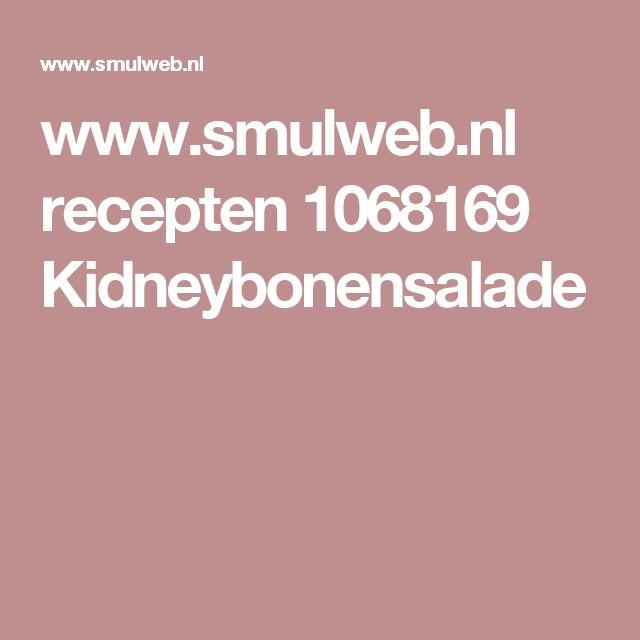 www.smulweb.nl recepten 1068169 Kidneybonensalade