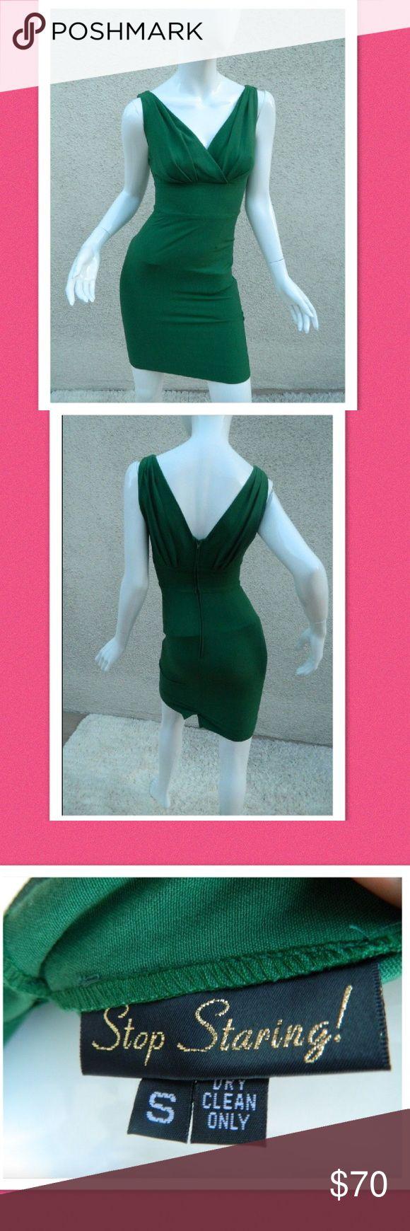 Stop Staring Sexy Wiggle Green Dress Sexy green dress, form fitting, no flaws Stop Staring Dresses Mini