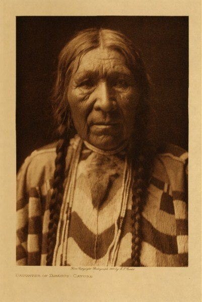 Daughter of Tamahus - Cayuse Indian