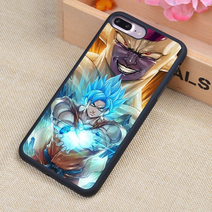 Dragon Ball Z Goku Frieza Printed Soft Rubber Mobile Phone Case Coque For iPhone 6S Plus 7 7 Plus 5 5S 5C SE 4S Back Cover Shell