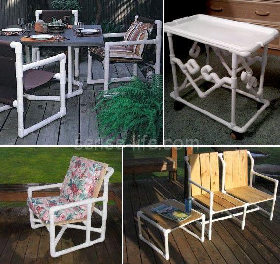Las 25 mejores ideas sobre silla de pvc en pinterest y m s for Casitas de jardin de plastico