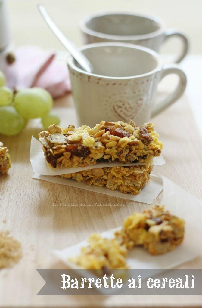 La ricetta della felicità: Barrette (vegane e gluten free) di cereali fatte in casa ... e i miei 6 chili persi in un'estate!