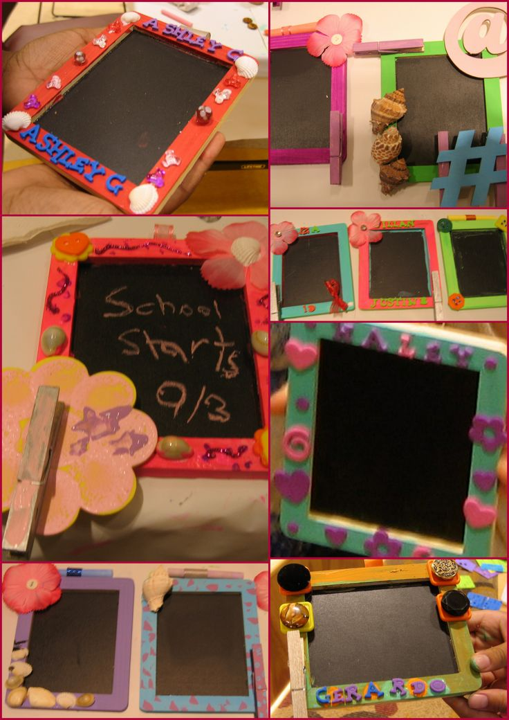 1000 images about vbs crafts on pinterest roller for Decorate your own picture frame craft