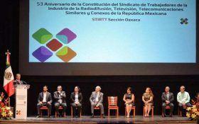Reconoce Alejandro Murat labor de la STIRTT para consolidar la democracia en Oaxaca