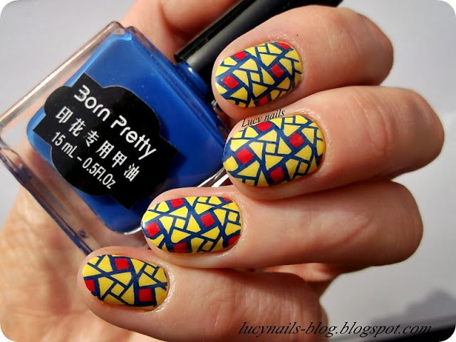 Born Pretty Stamping Nail Polish nr 7