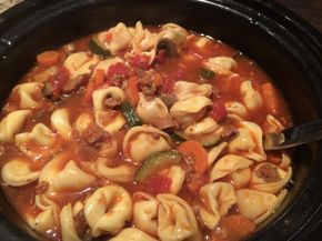 The #1 Source For the Best Venison Recipes On The Internet. Vension Sausage and cheese tortellini soup