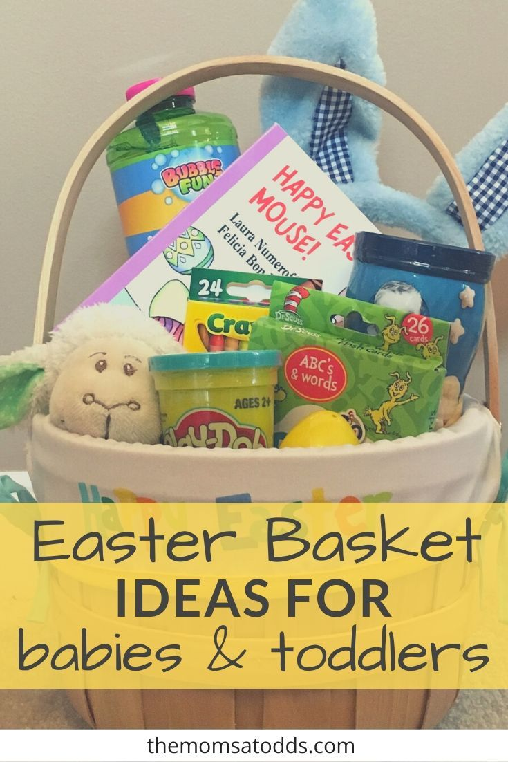 Best Easter Basket Ideas For Toddlers Babies And Big Kids Simple Easter Baskets Easter Baskets Fun Easter Baskets