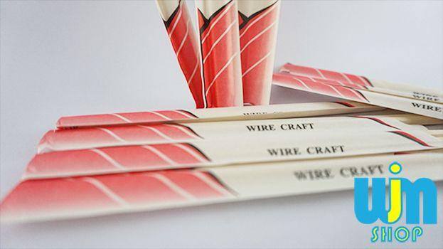 Sumpit Kayu Wire Craft - 10pasang Detail Sumpit Kayu: Isi: 10 pasang Kemasan: kertas Bahan: Kayu Buatan: NN