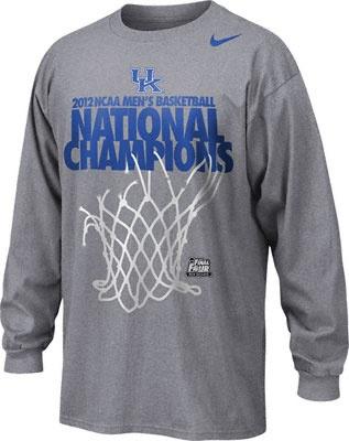 Kentucky Wildcats Grey Nike 2012 NCAA Basketball National Champions Official Locker Room Long Sleeve T-Shirt - #KentuckyWildcats #UK #Wildcats #NCAAChamps - http://www.fansedge.com/Kentucky-Wildcats-Grey-Nike-2012-NCAA-Basketball-National-Champions-Official-Locker-Room-Long-Sleeve-T-Shirt-_1049937037_PD.html?social=pinterest_uk_lockerlsshirt