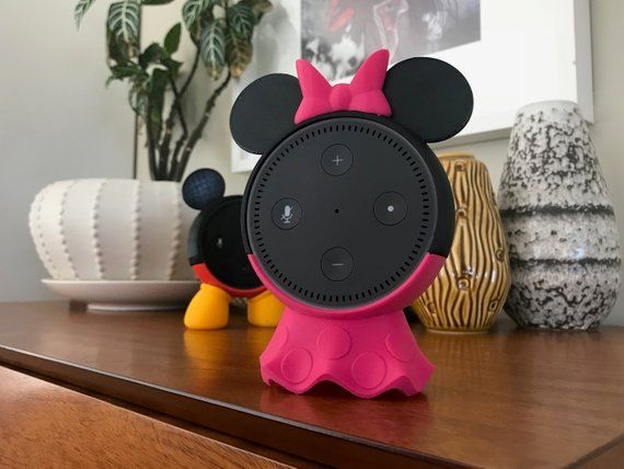 Outfit Your Amazon Echo Dot With A Mickey Mouse Case