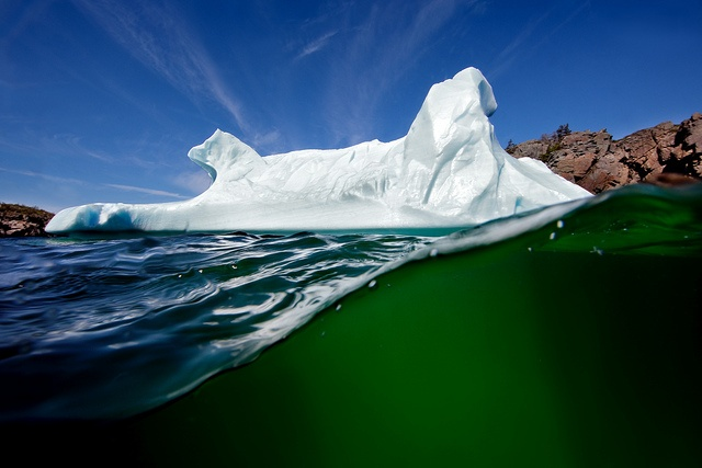 Iceberg - Little Bay Islands Newfoundland, Canada