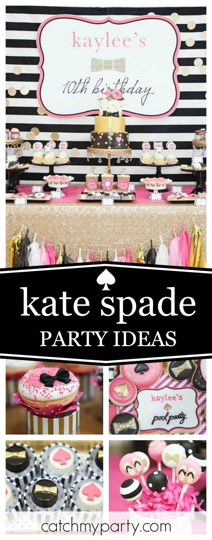 Pool Party Birthday A Glamorous Kate