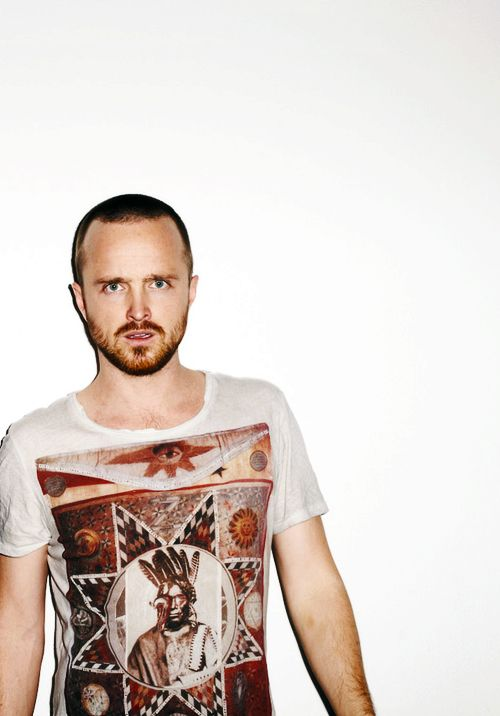 Aaron Paul photographed by Terry Richardson