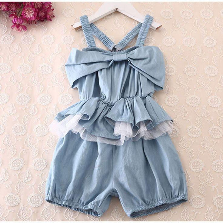 $8.09 (Buy here: https://alitems.com/g/1e8d114494ebda23ff8b16525dc3e8/?i=5&ulp=https%3A%2F%2Fwww.aliexpress.com%2Fitem%2F2017-Spring-Summer-big-Girl-Jumpsuit-Sweet-Fashion-Washed-Jeans-Denim-strap-Romper-Jumpsuits-toddler-girls%2F32800791786.html ) 2017 Spring Summer big Girl Jumpsuit Sweet Fashion Washed Jeans Denim strap Romper Jumpsuits toddler girls clothing Cowboy Blue for just $8.09