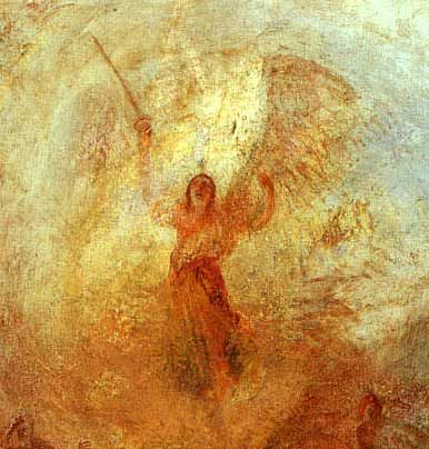 J.M.W. Turner - Angel Standing in a Storm