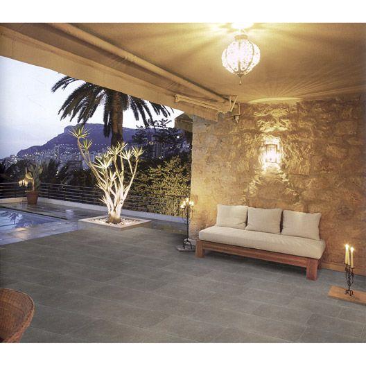17 best images about terrasse carrelage on pinterest for Carrelage exterieur terrasse lapeyre
