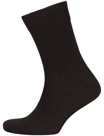 2 Par Wool Socks Black