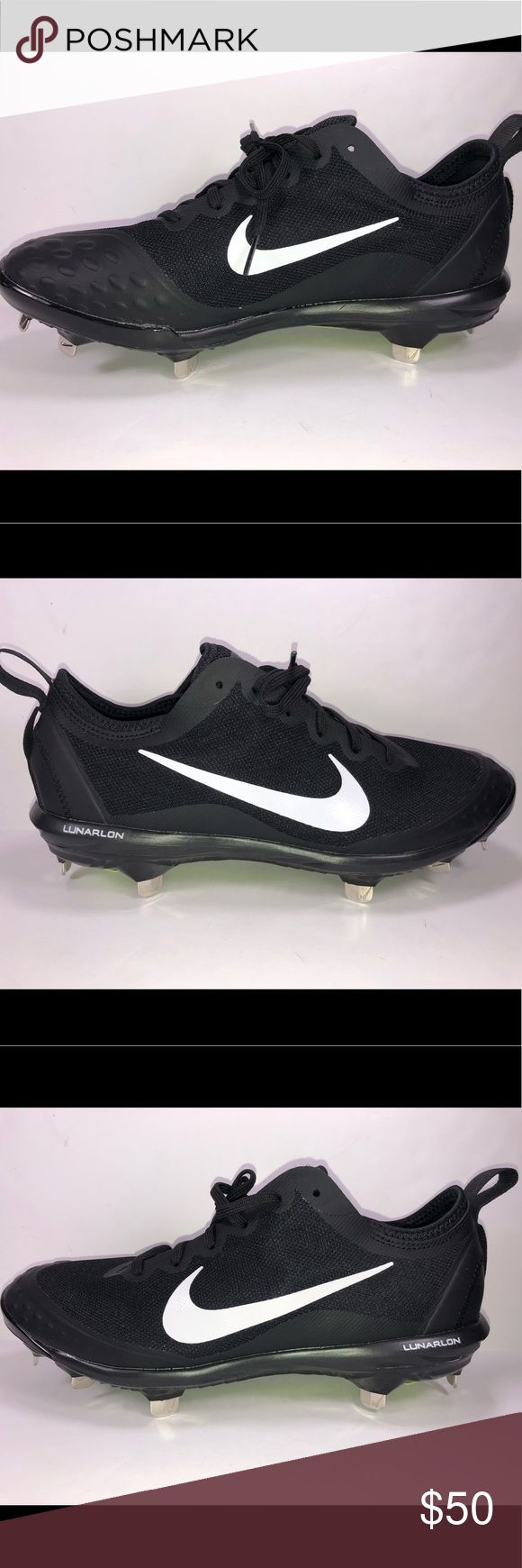 Nike Lunar Hyperdiamond 2 Elite Softball Cleat 9.5 Excellent Like New Condition Never Been Worn New Without Box. Metal Cleats. S501 Nike Shoes Athletic Shoes