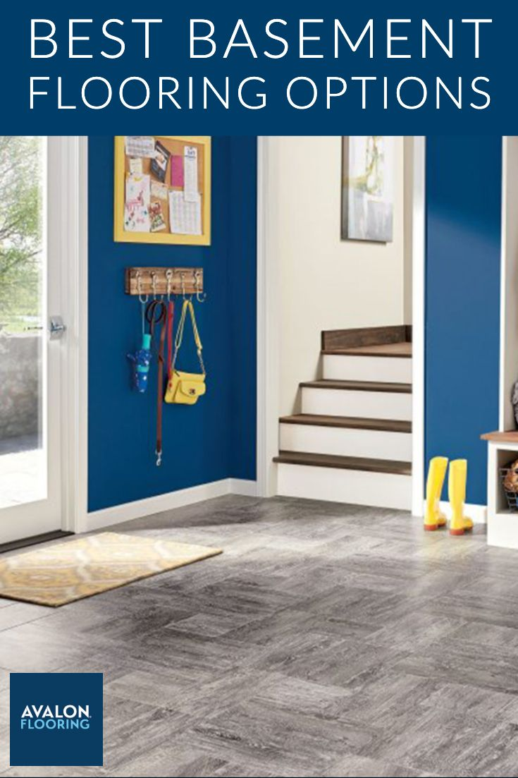 Best Basement Flooring Options Flooring For Your Basement Best Flooring For Basement Basement Flooring Options Basement Flooring