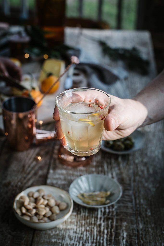 Local Milk | holiday cocktail : ginger kombucha & vodka