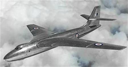"valient bomber | The Vickers Valiant ""V"" bomber prototype, the Vickers Type 660 - Image ..."