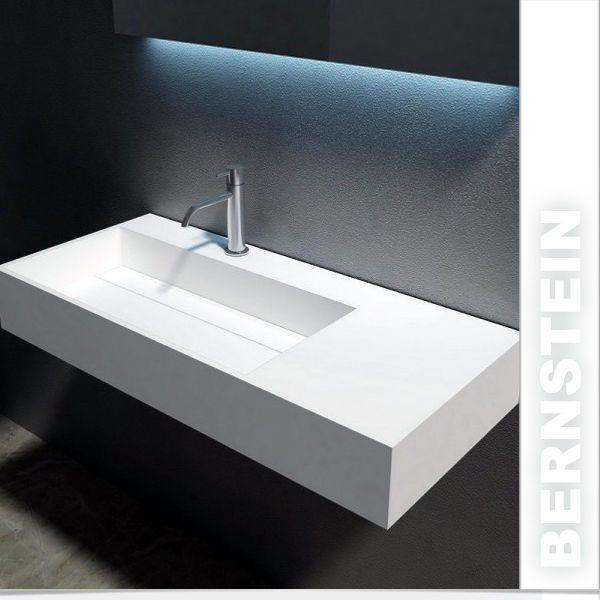 Die besten 25+ Wandwaschbecken Ideen auf Pinterest Sockel - badezimmer doppelwaschbecken