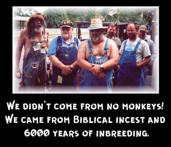 They really seem to have a point......well the inbreeding seems plausible.