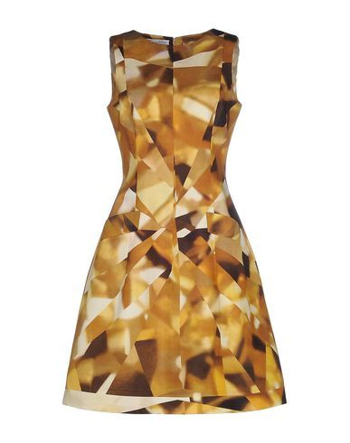 OSCAR DE LA RENTA Knee-Length Dress. #oscardelarenta #cloth #dress