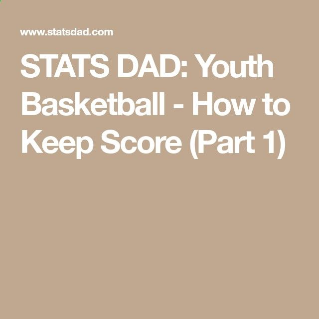 Academy of Scoring Basketball - STATS DAD: Youth Basketball - How to Keep Score (Part 1) TSA Is a Complete Ball Handling, Shooting, And Finishing System!  Here's What's Included...