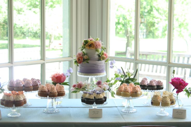 Customized sweet table at Langdon Hall!
