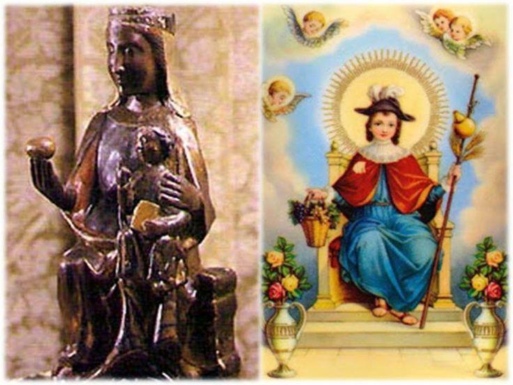 Inmaculada Madre de Dios,   María Santísima de Atocha,   agradable Sagrario del Espíritu Santo,   puerta del reino de los cielos,...