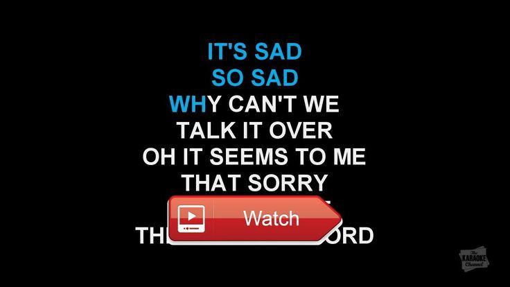 Sorry Seems To Be The Hardest Word Elton John KARAOKE Lyrics  Sorry Seems To Be The Hardest Word Elton John KARAOKE Lyrics