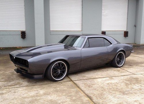 Muscle Cars… Custom Chevrolet Camaro 1967 new deals at 106 St Tire