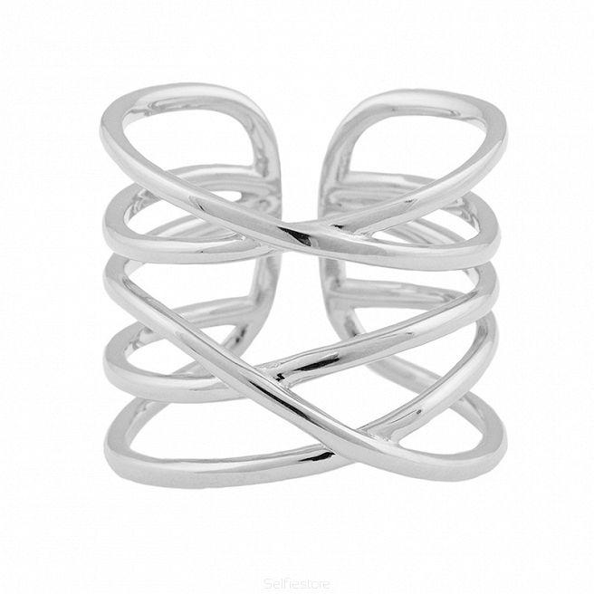 Pierścionek / złocenie / gładka obrączka - Selfie Jewellery - Sklep Internetowy
