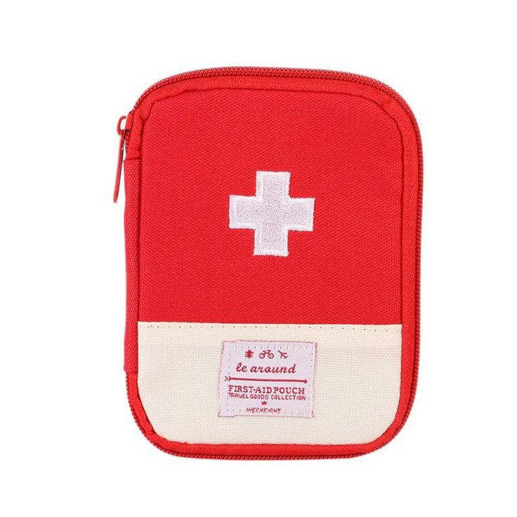 Mini Safe Outdoor Wilderness Survival Travel First Aid Kit Camping Hiking Medical Emergency Bag