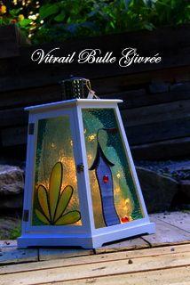 Boutique vitrail bulle givrée - Bulle Givrée