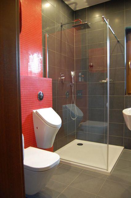 Projekt męskiej łazienki dla właściciela i jego syna- Zawiercie