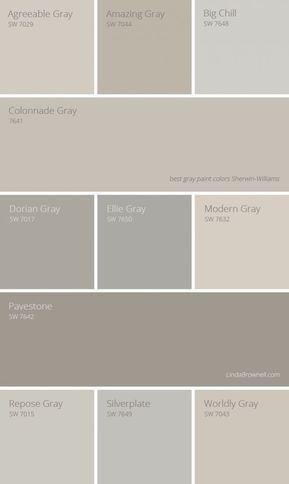 11 most amazing best gray paint colors Sherwin Williams   Bathroom Paint Color Ideas Pictures   Bathroom Color Schemes   Bathroom Color Ideas   Bathroom Colours 2019   Neutral Tone Bathroom Ideas. #elitepainter #bathroomdiymakeover #bathrooms