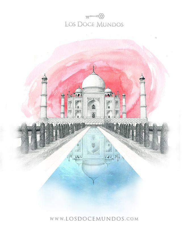 Los Doce Mundos - India - Agra - Taj Mahal