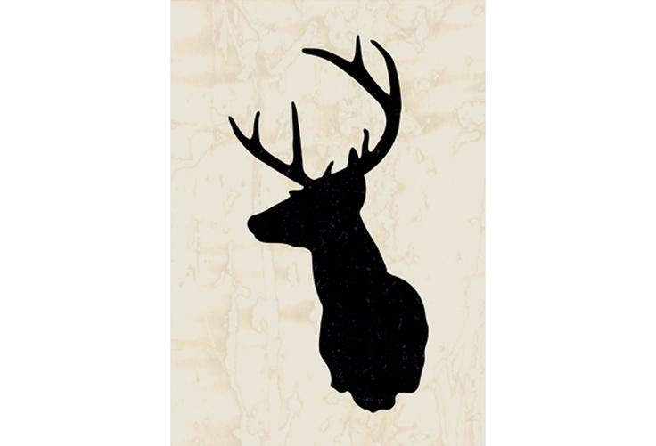 Deer Head Wall Decor Faux Taxidermy