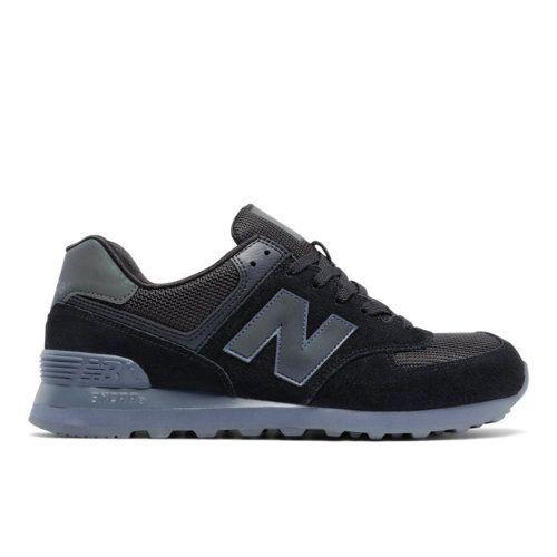 574 Urban Twilight Men's 574 Shoes - Black/Grey (ML574UWB)