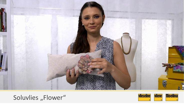 """Video 2 - Vlieseline Soluvlies """"Flower"""""""
