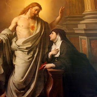 Keď som raz kľačala pred Velebnou sviatosťou ktoréhosi dňa v oktáve Božieho Tela, dostalo sa mi od Pána Boha nesmiernych milostí jeho lásk...