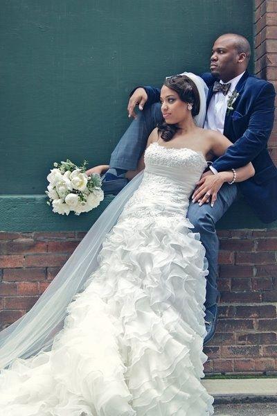African-American Wedding http://www.blueskyatlanta.com